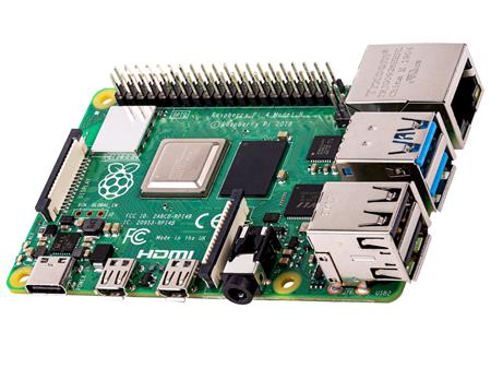 Raspberry Pi 4 Model B 8gb Ram Element 14 Uk 4k Usb-c