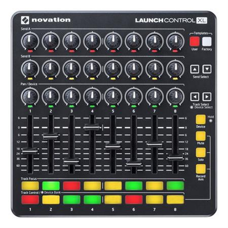 Novation Launch Control Xl Controlador Midi Dj Ableton Live
