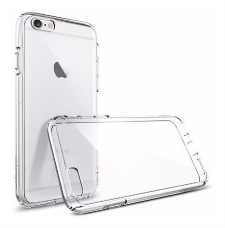 Funda iPhone 6/6s Plus Spigen Ultra Hybrid Crystal Clear