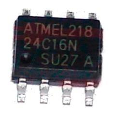 Memoria Eeprom At24c16n 24c16 Ecu Smd Tableros En Blister