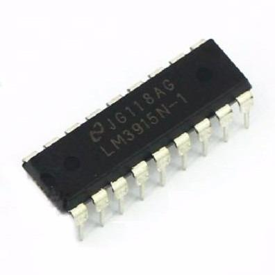 Lm 3915 Lm-3915 Lm3915 Driver Display Barra 10 Dip18