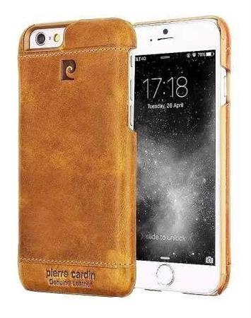 Funda iPhone 6 6s De Cuero Genuino Pierre Cardin Premium Usa