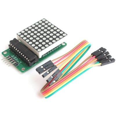 Modulo Max7219 Display Matriz Puntos 64 Leds Arduino Arm Pic