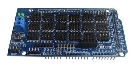 Mega Sensor Shield V2.0 Expansión Board For Diy Atmega 2560