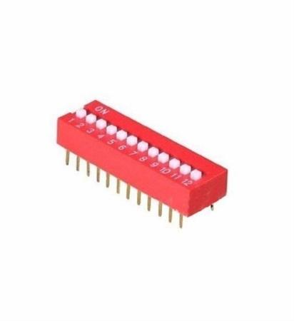 Dip Switch 12 Posiciones Interruptores Arduino