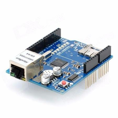 Arduino Ethernet Shield W5100 + Lector De Sd Y Compatibles