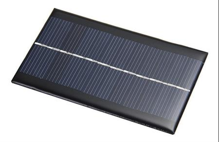 Panel Solar Arduino 6v 1w 200ma 110*60*2.5mm