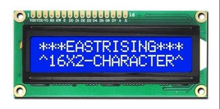 Display Lcd 16x2 Backlight Azul 1602 Hd44780 Arduino