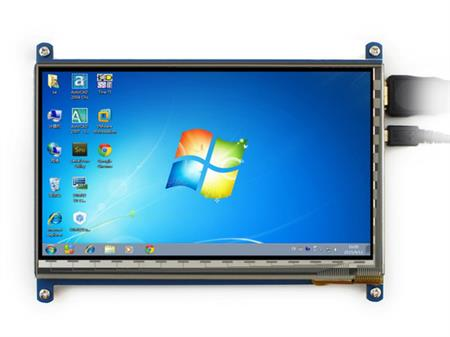 Pantalla Tactil 7 Hdmi Raspberry Pc 800x480 Touch