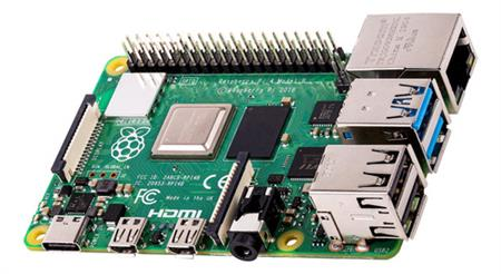 Raspberry Pi 4 Model B 4gb Ram Element 14 Uk 4k Usb-c