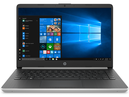 Notebook Hp Core I3 1005g1 10ma 14' Ssd 128gb 16gb Windows 10 - Plateada